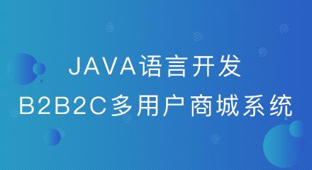 为何越来越多的企业选择java语言开发的b2b2c多用户商城系统?
