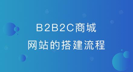 b2b2c商城网站的搭建流程,竟是这么简单!