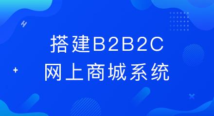 搭建b2b2c网上商城系统要考虑哪些问题?