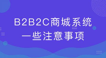 b2b2c商城系统上线前,别忘了检查这几点!