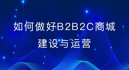 如何做好b2b2c商城网站建设与运营?